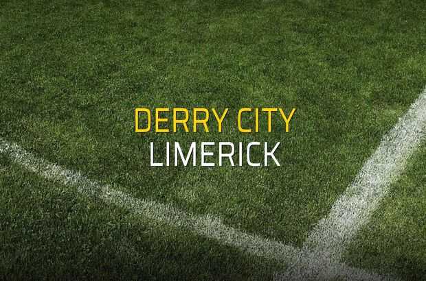 Derry City - Limerick maçı heyecanı