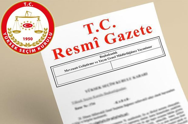 YSK'nın cumhurbaşkanı seçimine ilişkin kararı Resmi Gazete'de