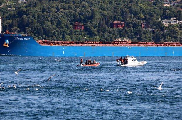 Fatih Sultan Mehmet Köprüsü'nden bir kişi denize atladı!