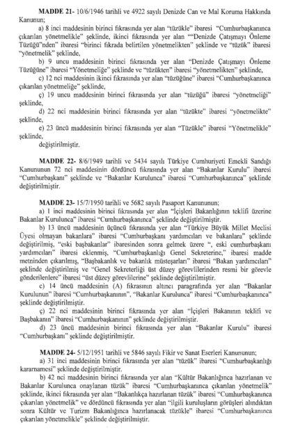 İşte 700 sayılı yeni KHK'nın maddeleri