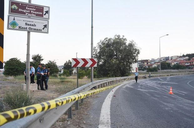 İzmir motosiklet kazası