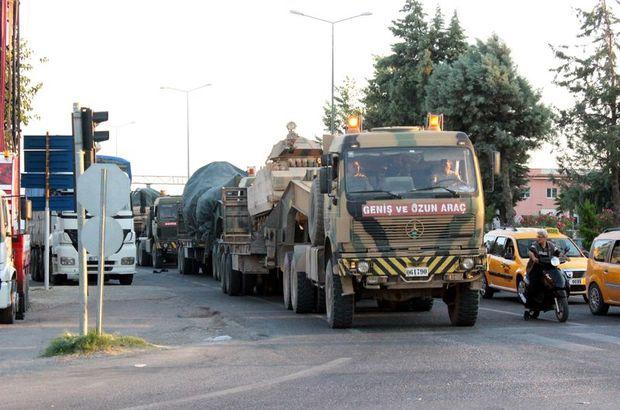 Münbiç ile Tel Rıfat sınırına mekanize birlikleri gönderildi