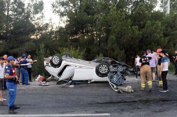 Son dakika... Uşak'ta trafik kazası: 2 ölü, 17 yaralı