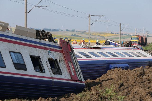 Tekirdağ Çorlu'da tren kazasının nedeni ortaya çıktı! Tren kazasındaki ölü ve yararlı sayısı