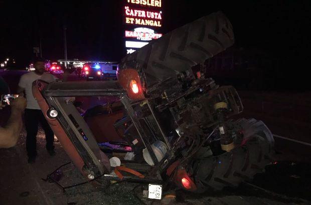 Afyonkarahisar trafik kazası