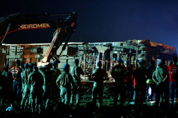 Tekirdağ tren kazası son dakika