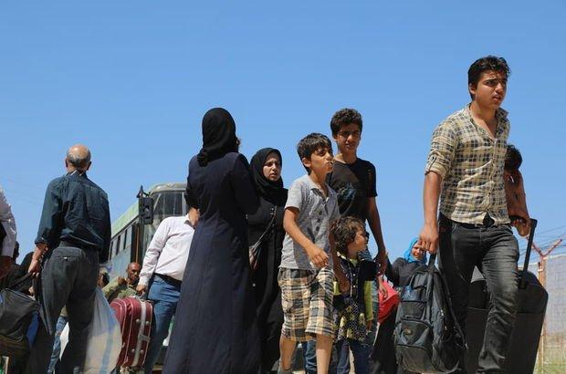 Bayram için ülkesine giden 30 bin Suriyeli geri döndü