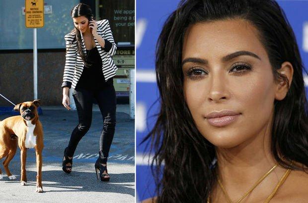 Kardashian şimdi de köpeğine estetik yaptırdı