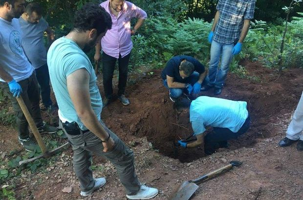 Cesedi gömdükleri yeri polise söylediler