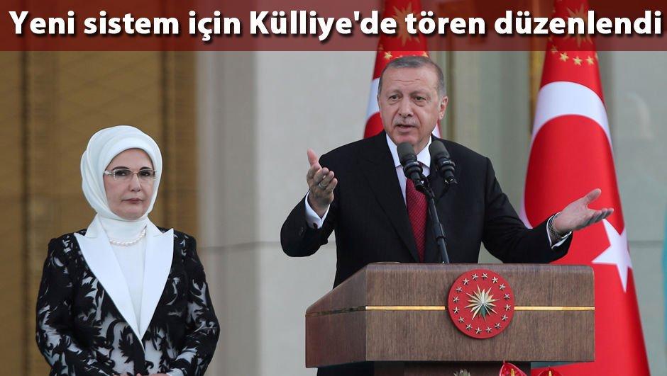 Erdoğan: Kılavuzum yine demokrasi, milli iradenin üstünlüğü