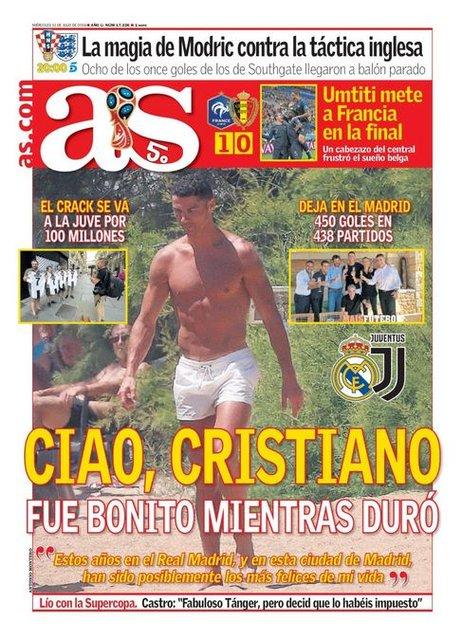 Marca'dan Ronaldo için tarihi kapak! (Cristiano Ronaldo rekorları ve serüveni)