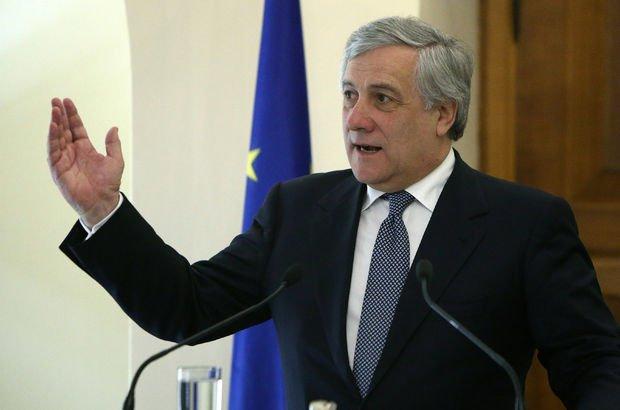 Avrupa Parlamentosu Başkanı Antonio Tajani