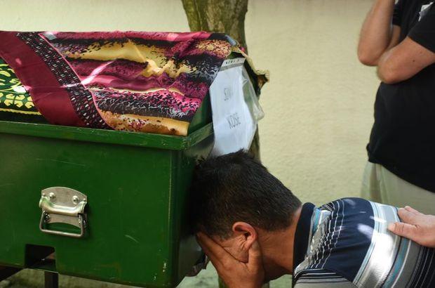Genç kızların cenazesinde gözyaşları sel oldu aktı