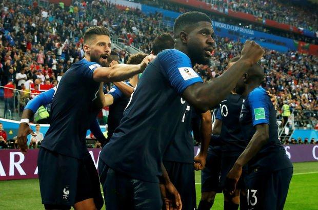 Dünya Kupasında ilk finalist Fransa oldu, Belçika kupaya veda etti 15