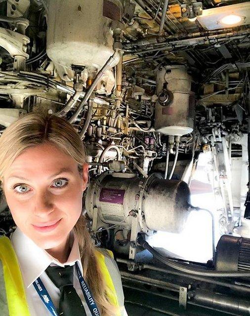 Kuaförlüğü bıraktı, pilot oldu! İşte sosyal medyayı sallayan pilot Sara Johansson