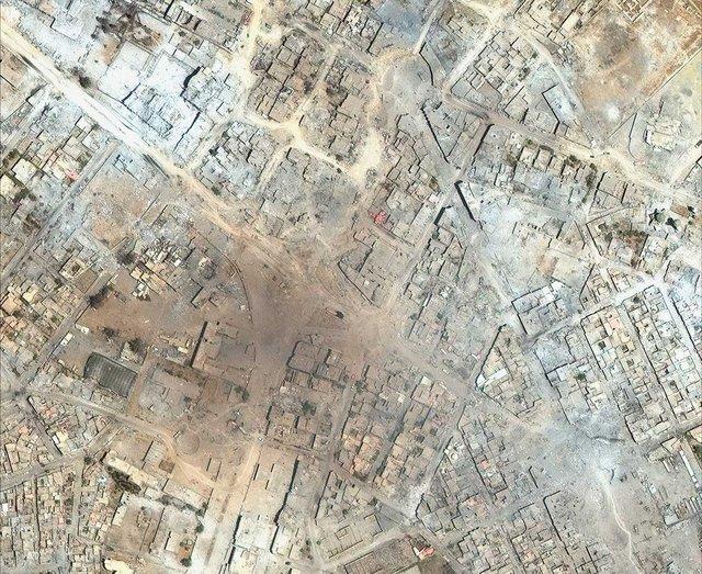 Savaş öncesi ve savaş sonrası Musul fotoğrafları