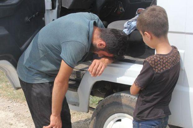 9 yaşındaki çocuk dehşet anlarına tanıklık etti