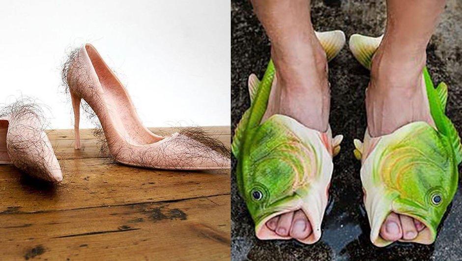 Gelmiş geçmiş en çirkin ayakkabı modelleri