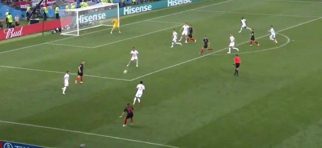 Maguire, Hırvatistan - İngiltere maçında saçını düzeltirken Mandzukic gol attı, İngiltere Dünya Kupası'ndan elendi!