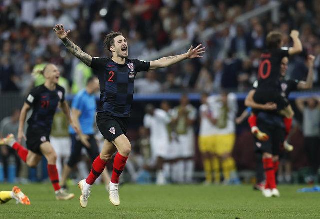Hırvatistan yanıyor! Dünya Kupası'nda İngiltere zaferinin ardından...