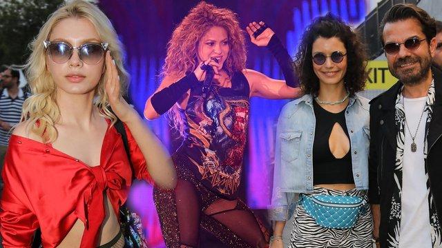 Ünlü isimler Shakira'a konserine akın etti! - Magazin haberleri