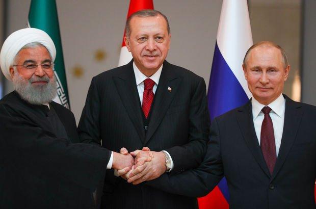 Erdoğan, Putin ve Ruhani Tahran'da buluşacak!