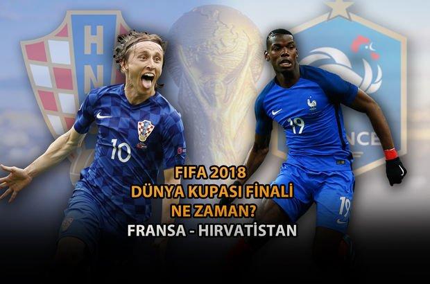 fransa-hırvatistan