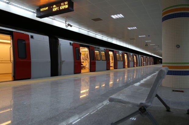 Metro çalışma saatleri
