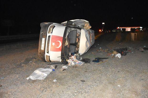 Kırıkkale'de alkollü sürücü kaza yaptı