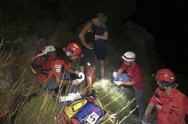 Muğla'da kayıp turistler bulundu