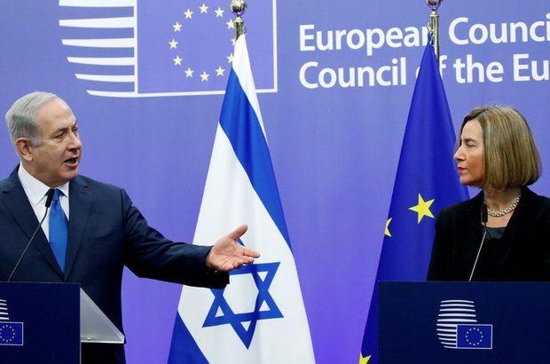 İsrail, AB'ye tepki gösterdi