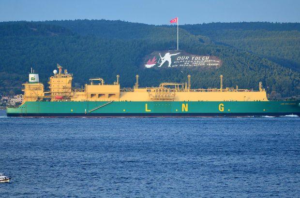 Boğaz tanker geçişi