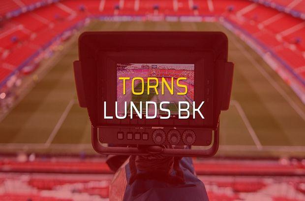 Torns - Lunds BK maçı istatistikleri