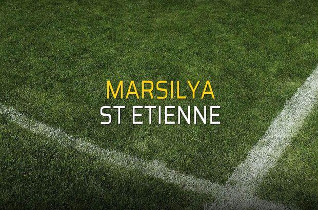 Marsilya - St Etienne karşılaşma önü