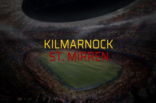 Kilmarnock - St. Mirren rakamlar