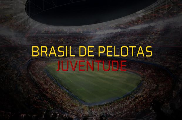 Brasil De Pelotas - Juventude maçı ne zaman?