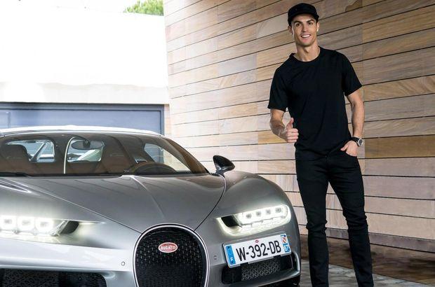 Cristiano Ronaldo'nun garajı