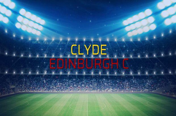 Clyde - Edinburgh C rakamlar