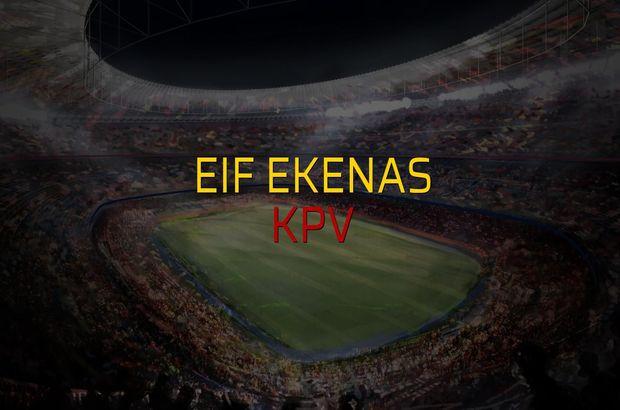 EIF Ekenas - KPV rakamlar
