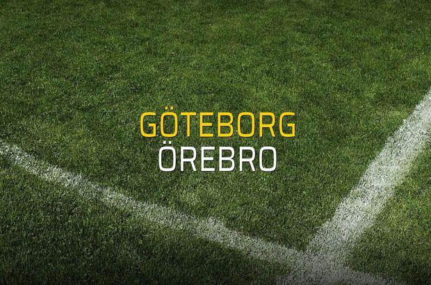 Göteborg - Örebro düellosu