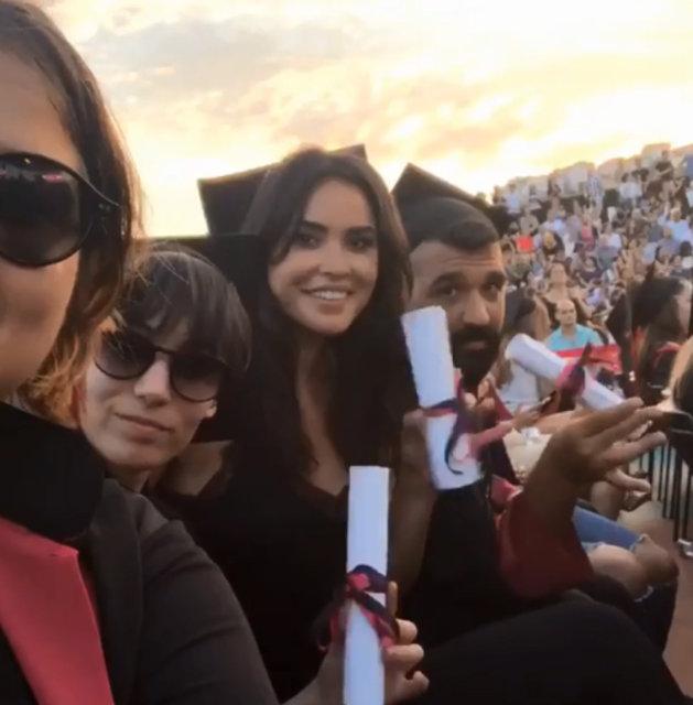 Zeynep Sever Demirel üniversiteden mezun oldu - Magazin haberleri
