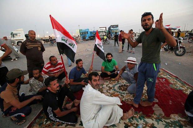 Irak diken üstünde! Gösteriler başkente sıçradı...