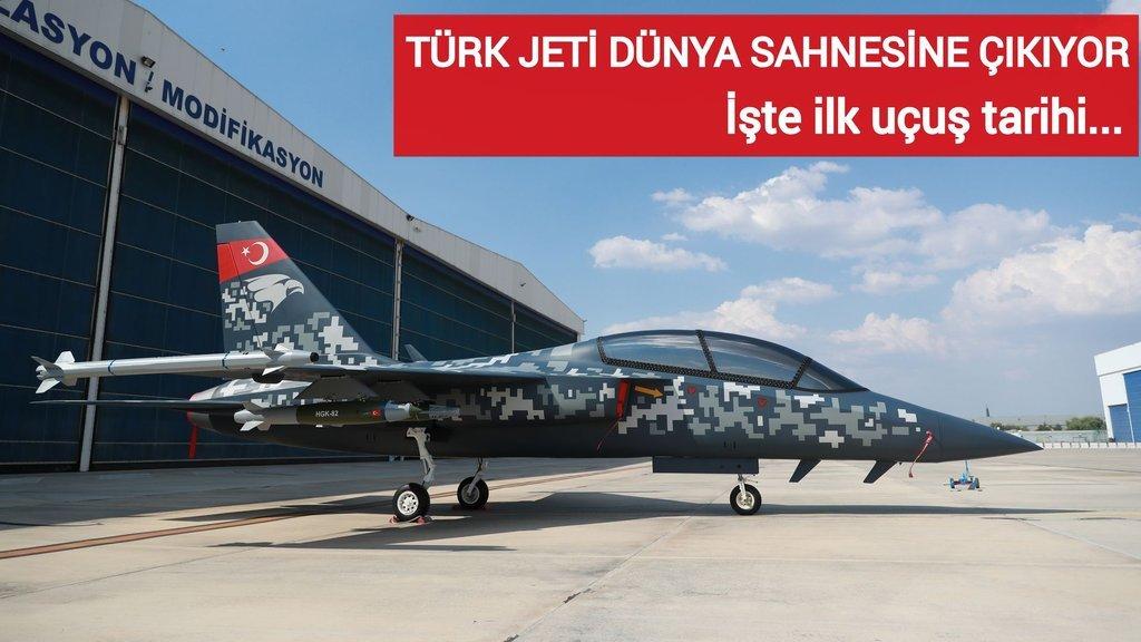 Türk jeti dünya sahnesine çıkıyor! İşte ilk uçuş tarihi