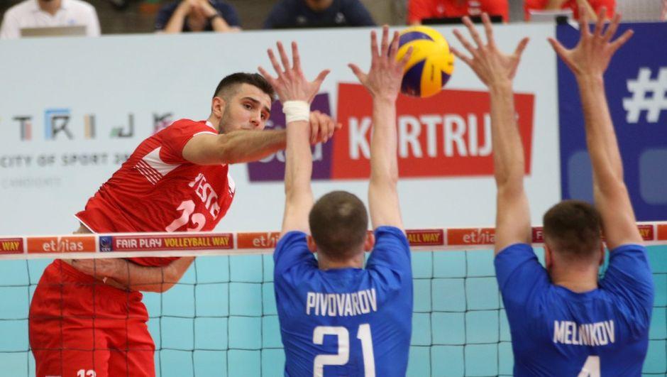 Genç milliler, ilk maçında Rusya'ya yenildi