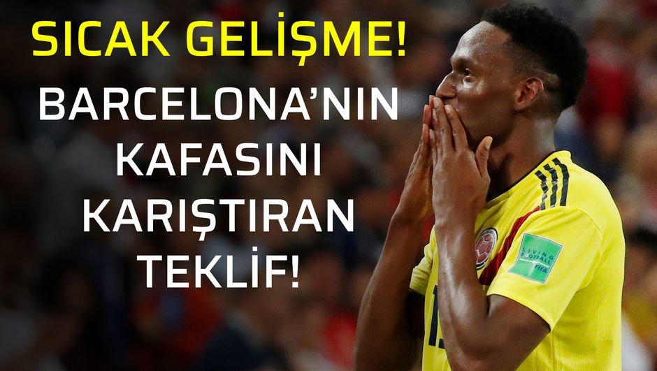 Galatasaray, Yerry Mina için planını yaptı!