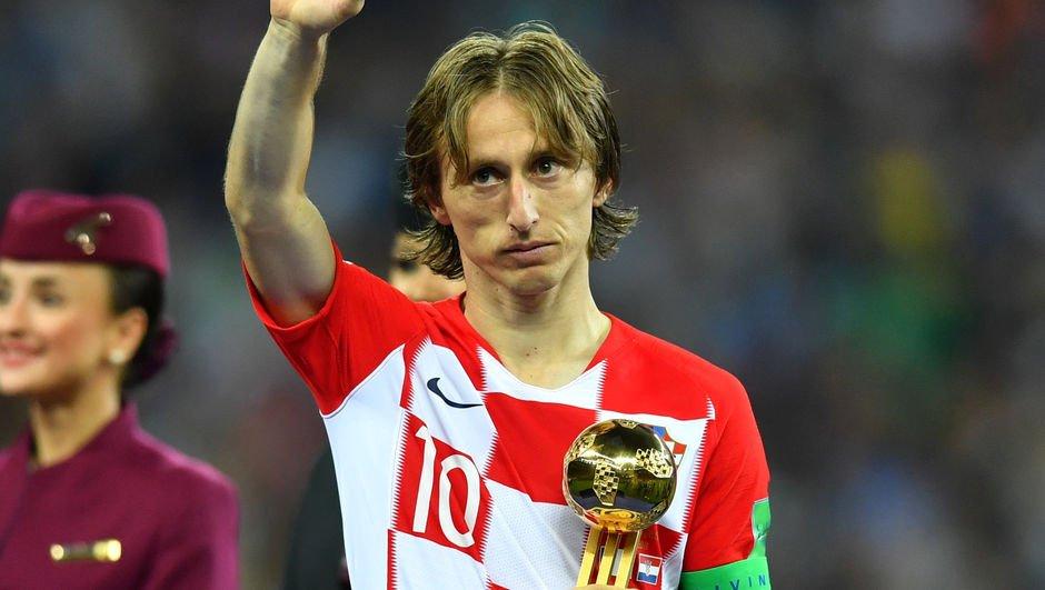 Dünya Kupası'nın en iyisi Modric