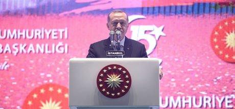 Son Dakika! Cumhurbaşkanı Erdoğan: 15 Temmuz tüm Türkiye'nin zaferidir