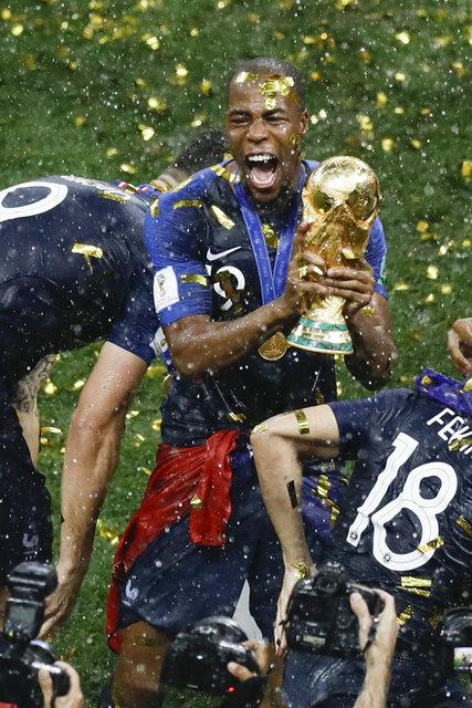 Fransa'nın şampiyon kadrosundaki yıldızların kökenleri dikkat çekti