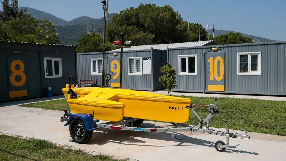 """Yerli """"insansız deniz aracı"""""""