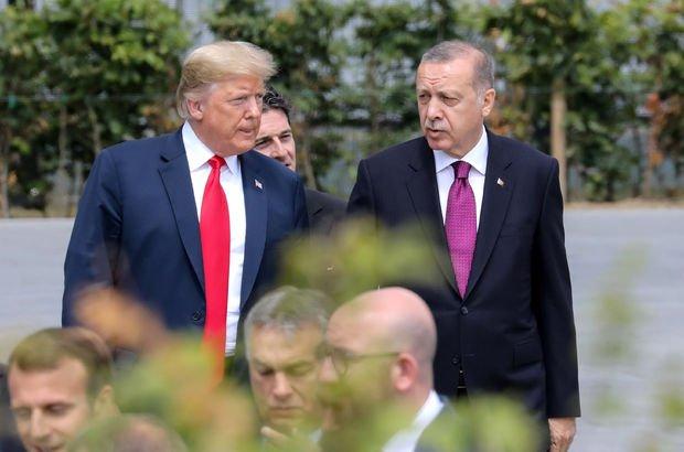 Erdoğan ile Trump, Suriye ve Münbiç'i görüştü!